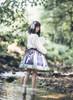 Model Show (Dark Blue + Pale Mint Ver.) (headdress: P00655, blouse: TP00179)