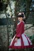 Model Show (Burgundy Ver.) (skirt: SP00205, petticoat: UN00026, headdress: P00656)