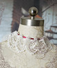 Elegant Lolita Ribbon and Rose Decorations Choker*2color Instant Shipping