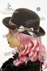 Cassical Lolita Solid Color Bowler Hat*4colors Instant Shipping