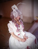 """Judgement"" Alice Lolita Lace Bunny Ears Mask*2colors"