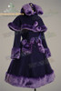 Front View (Deep Purple Wool + Purple Fur)