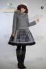 Model Show (Grey Ver.) (beret: P00406, skirt: SP00148, leggings: P00182)