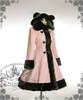 Cutie Gothic, Sweet Lolita: Bear Ears Hood Wool Coat