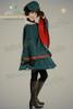 cape: CT00178;JSK: SP00081;petticoat: UN00019 blouse: TP00100;gloves: P00409;leggings: P00182