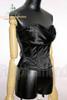 Elegant Gothic Over Bust Steel Boned Satin Corset