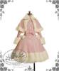 Sweet Gothic Lolita Warm Fur Wool Coat&Fur Cape