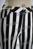 Cyber Punk Wide Stripe Cotton Pants