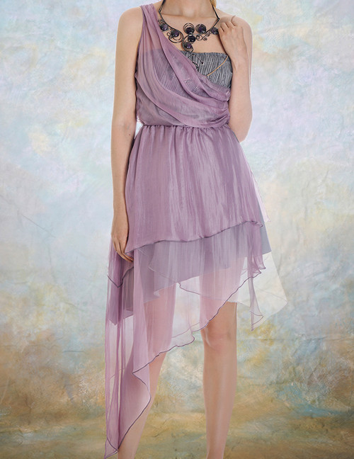 Model Show (Lilac + Grey Ver.) (necklace: A10003)
