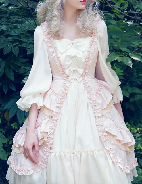 Model Show (Vintage Pink + Light Ivory Ver.) (petticoat: UN00026)