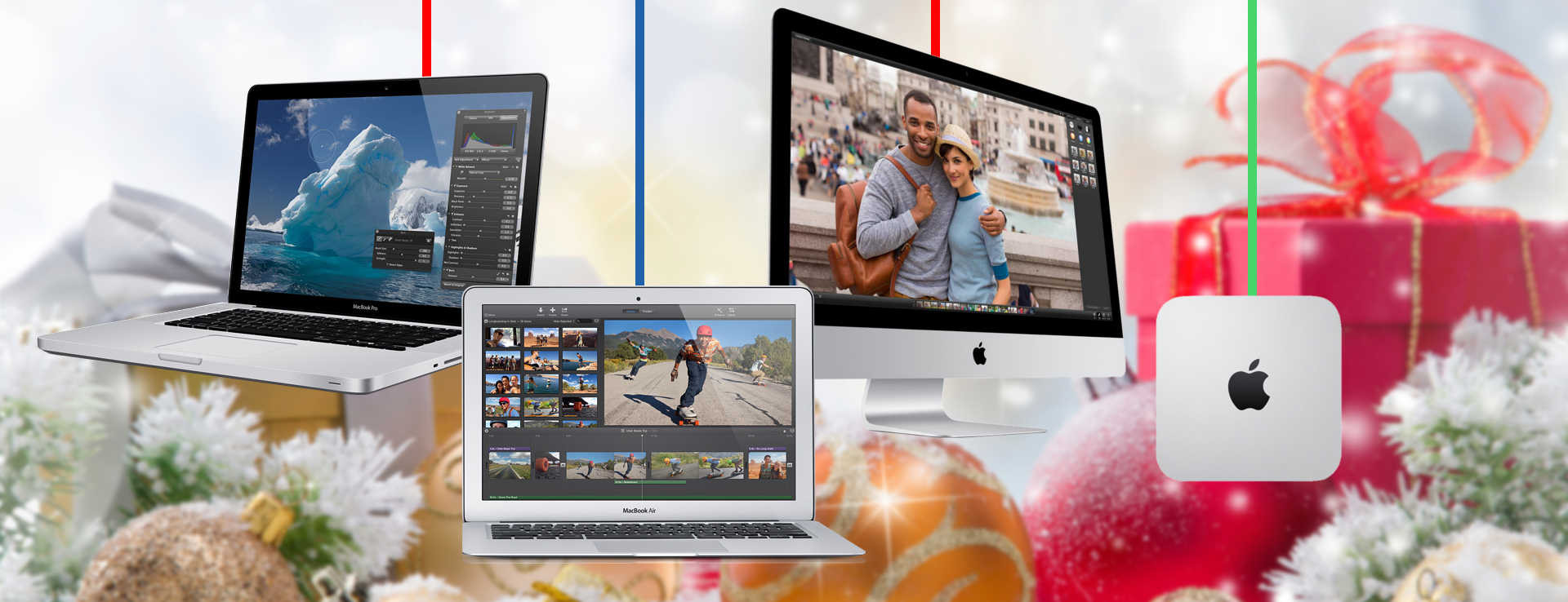 Finish Your Mac Shopping in Time to Beat the Christmas Rush!