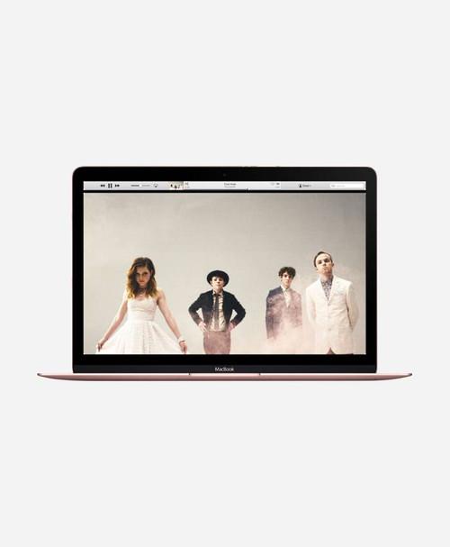 Refurbished Apple Macbook (Early 2016) Rose Gold Retina Front