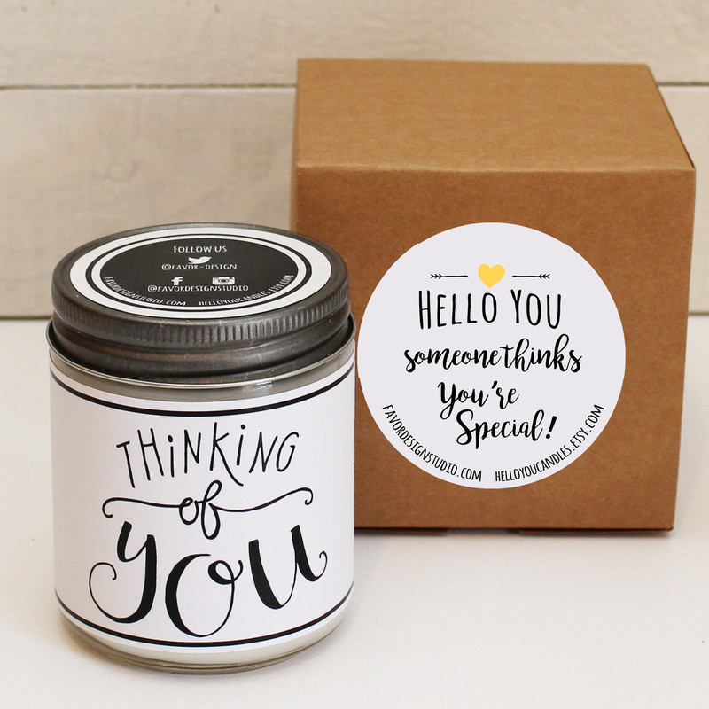 Love is in the Air Soy Candle Gift