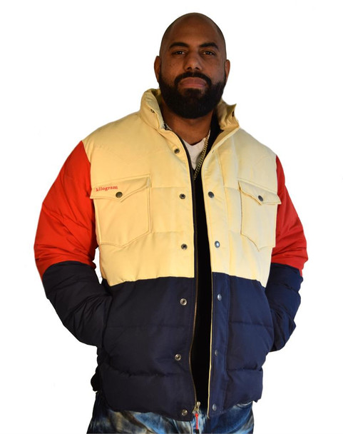 Kilogram Multi Color Puffer Jacket