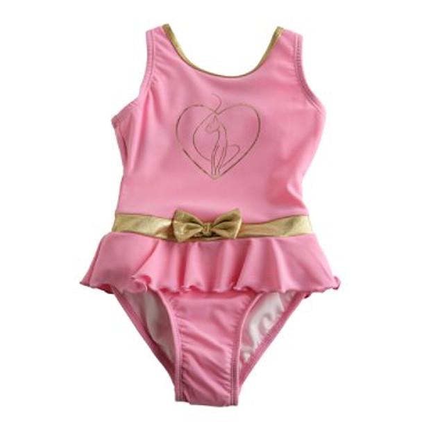Baby Phat Girlz Pink One Piece Bathing Suit