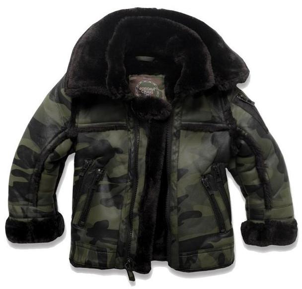 Jordan Craig Kids Camo Jacket