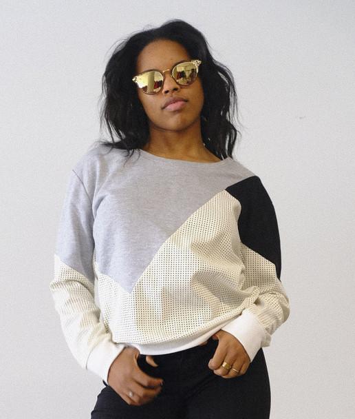 Colorblock Ladies Sweater Faubourg Du Temple