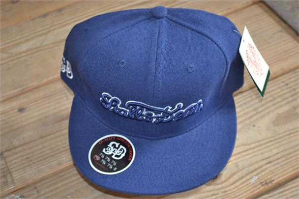 Stall and Dean Navy with White Scripture Hat