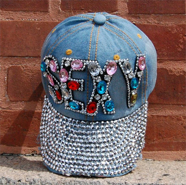 Colored Sexy Stones Baseball Cap