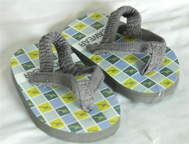 Rocawear Boys Gray Flip Flops