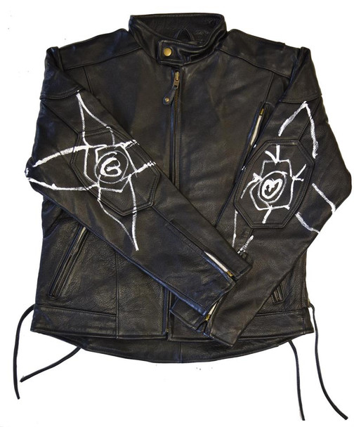 God is With Me Motorcycle Jacket