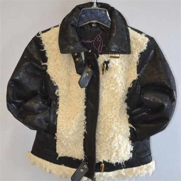 Baby Phat Fur Front with Buckle