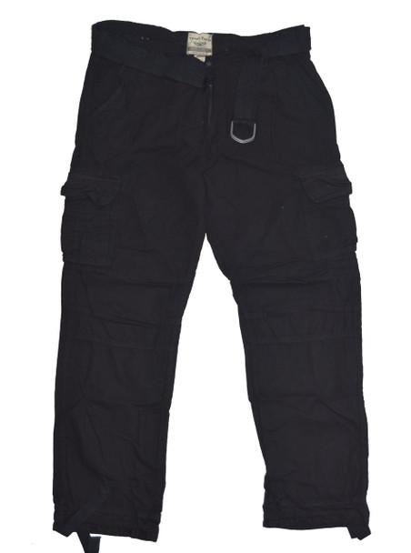 Dark Blue Fatigue Army Cargo Pants