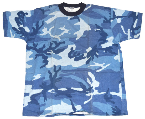 Blue Army Fatigue T-Shirt