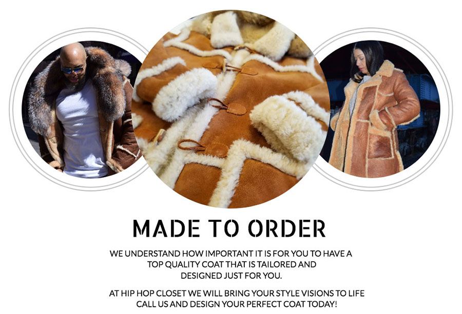 Custom Sheepskin and Shearling coats in Brooklyn NY