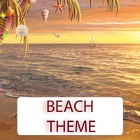 Beach Theme Gifts & Tropical Beach Decorations