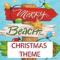 Christmas Theme Gifts & Tropical Beach Decorations