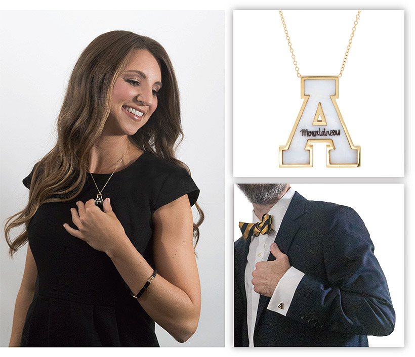 the appalachian state jewelry collection