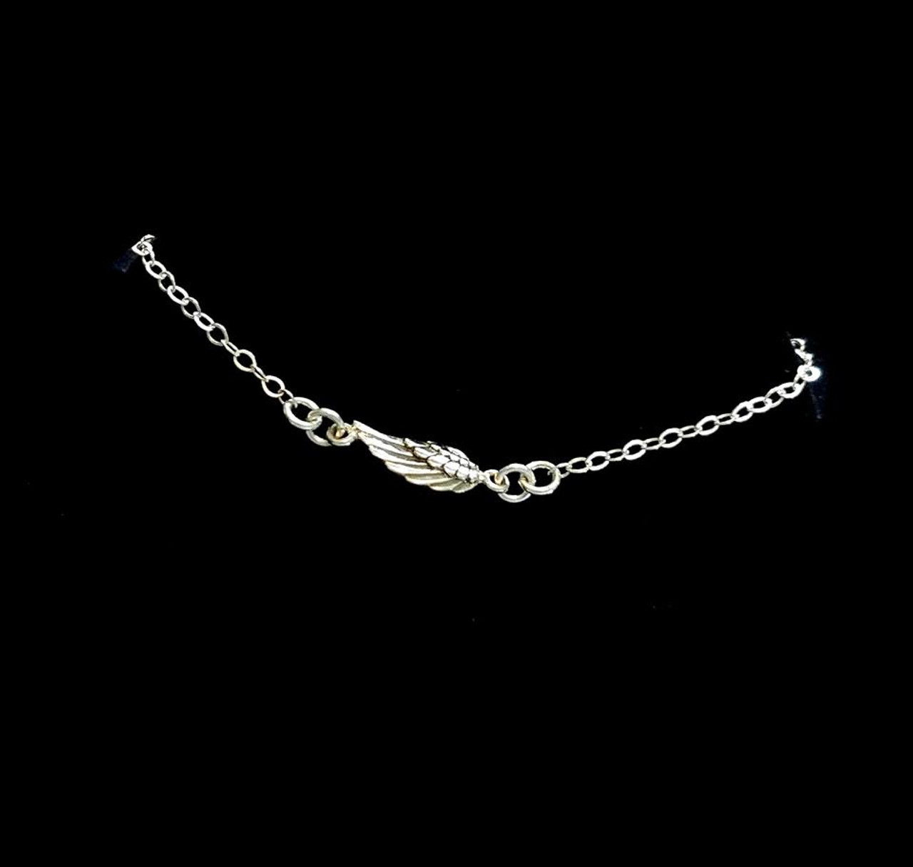 fullxfull silver bracelet products gold ankle plate new anklet sterling over flower il adjustable lotus beaded