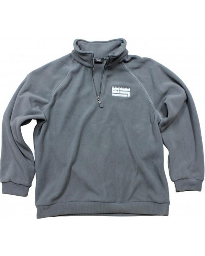 Grey Fleece Pullover