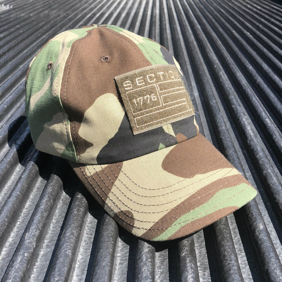 Woodland Tactical Hat