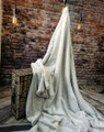 """*Frosted Silver- 50""""x 60"""" Blanket *QS"""