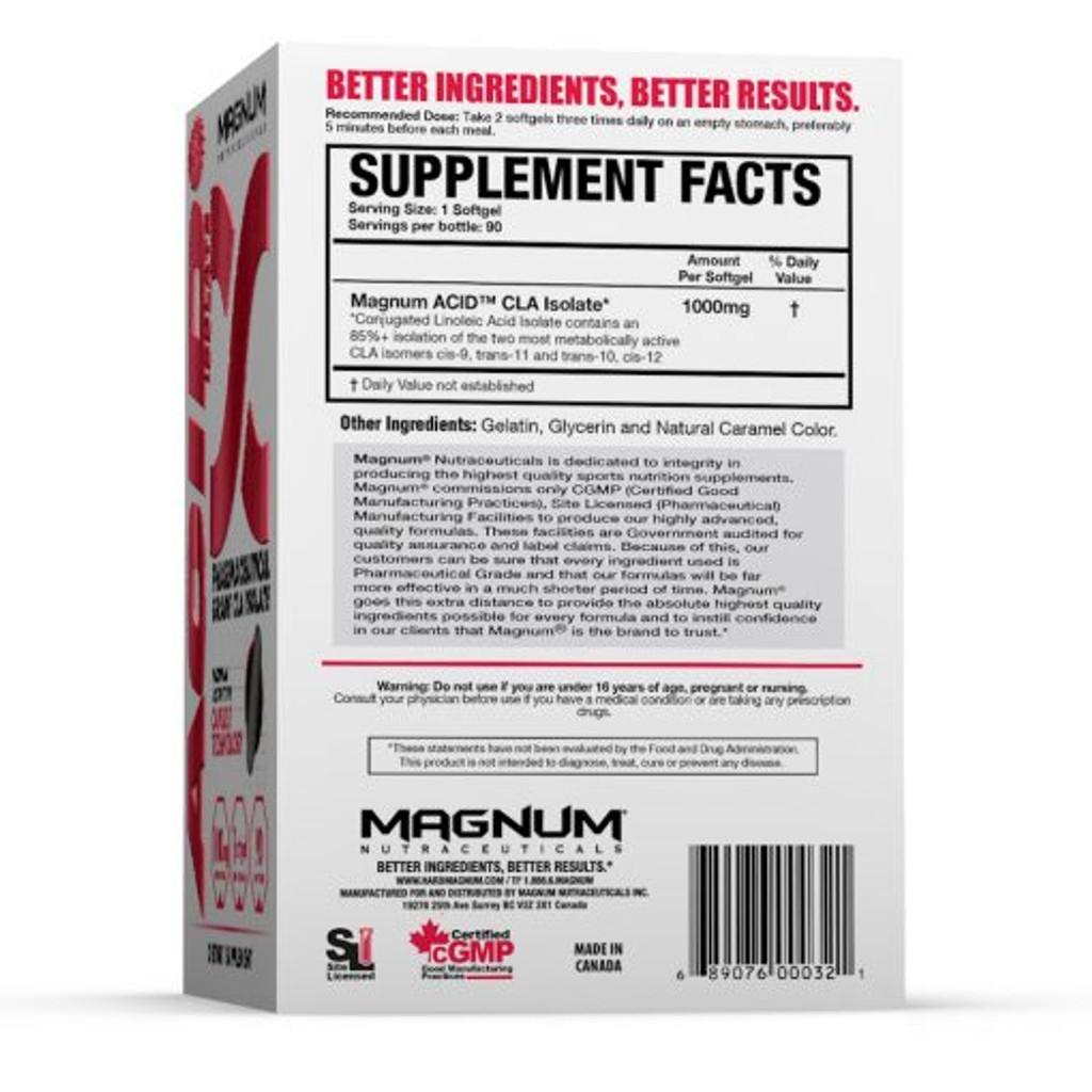 Magnum Nutraceuticals - Acid