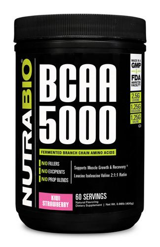 NUTRABIO - BCAA 5000 60 Servings