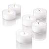 5 hour Tealights In Plastic Cups Bulk Packed 500 pcs/cs of Clear Plastic Cups Wholesale Tealight Candles Full Case