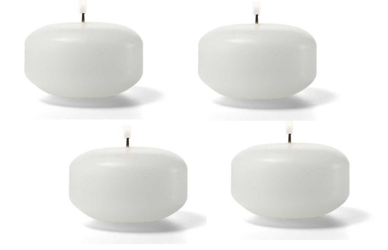 2 Inch Small Bulk Whole Floating Candles Qty 144