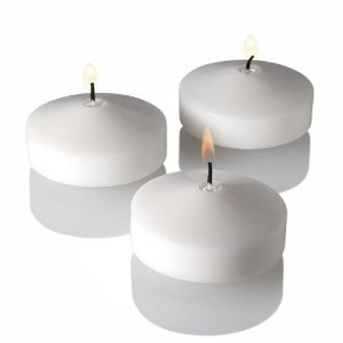 3 Inch Large Floating Candles Bulk Whole