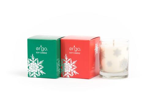 7oz English Pecan ( Green Box )  - Snow Flake Collection
