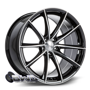 ACE Alloy Convex- Gloss Black Machined