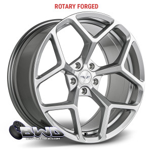 "20""  Factory Flow Form z28 Liquid Silver"