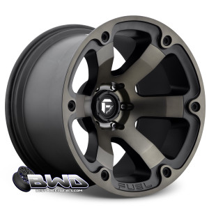 "18"" Fuel Beast D564 Matte Black"