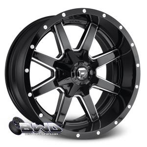 "18"" Fuel Maverick D610 Gloss Black"