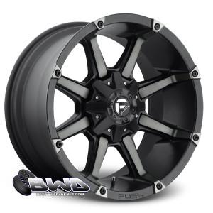 """18"""" Fuel Coupler D556 Machined Black"""