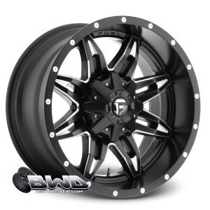 """18"""" Fuel Anza D567 Matte Black"""