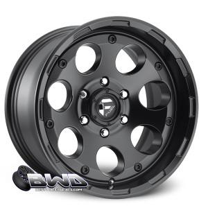 """18"""" Fuel Enduro D608 Matte Black"""