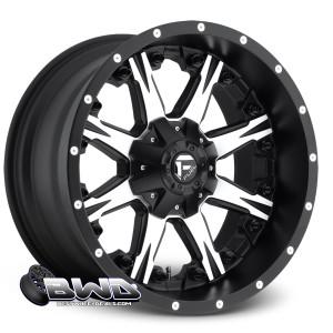 """18"""" Fuel Nutz D541 Matte Black"""
